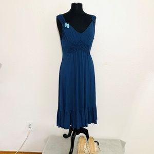NWT BCBGMAXAZRIA Indigo Color Dress